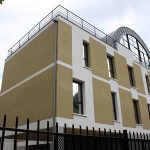Immeuble de bureaux et logements